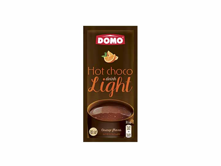 Domo Hot Chocolate Light 10g  |  Orange