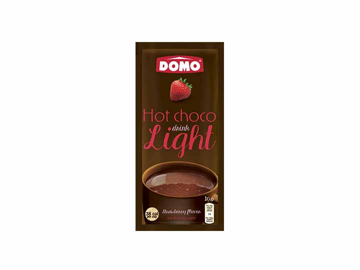 Domo Hot Chocolate Light 10g  |  Strawberry