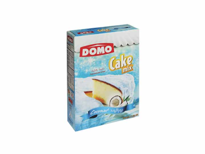 Domo cake mix 500g  |  Coconut