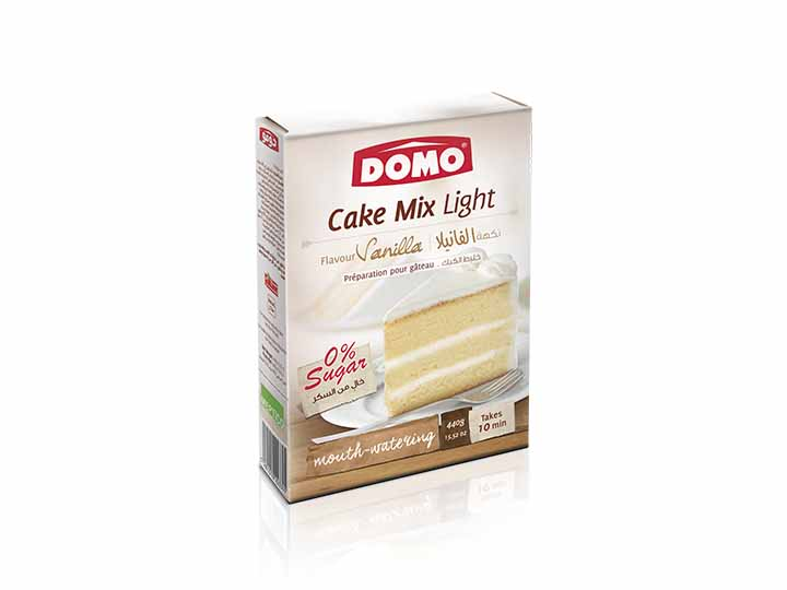 Domo Cake mix light 440g |  Vanilla
