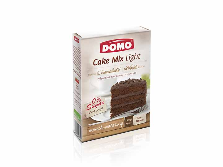 Domo Cake mix light 430g |  Chocolate