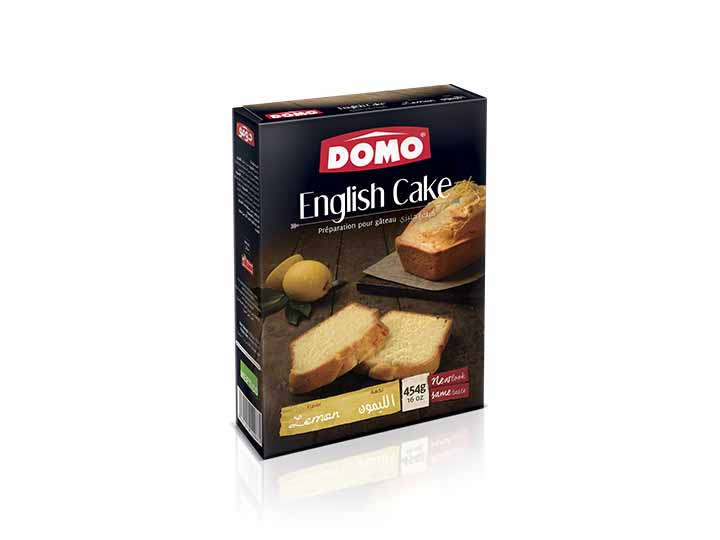 Domo English cake 454g |  Lemon