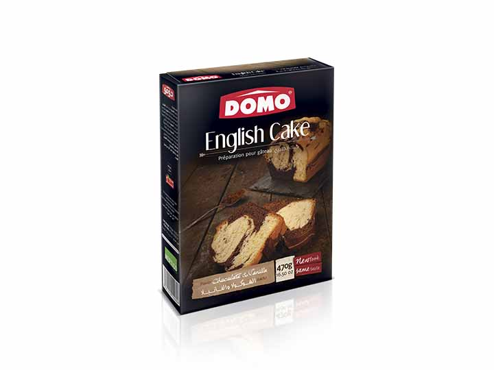 Domo English cake 470g |  Choco/Vanilla