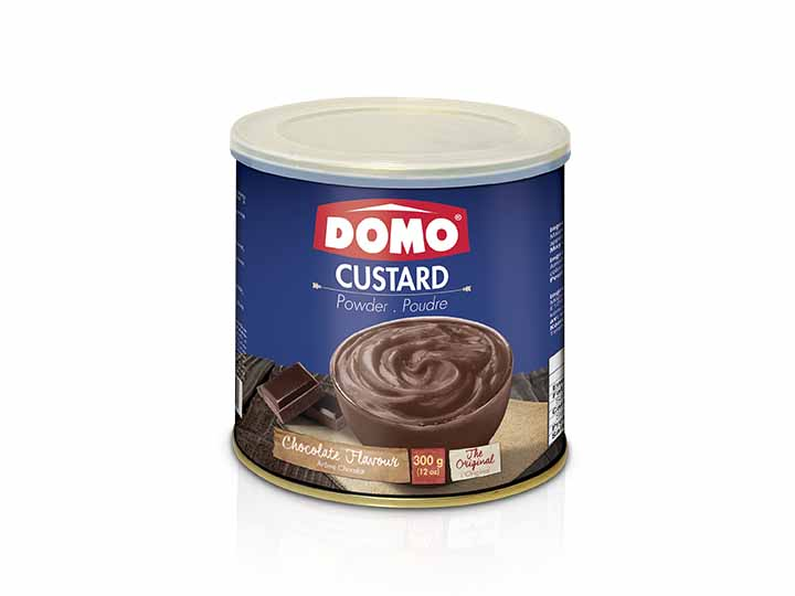 Domo Custard Powder 300g |  Chocolate