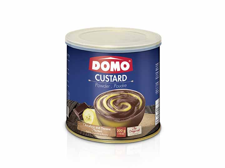 Domo Custard Powder 300g |  Chocolate/Banana