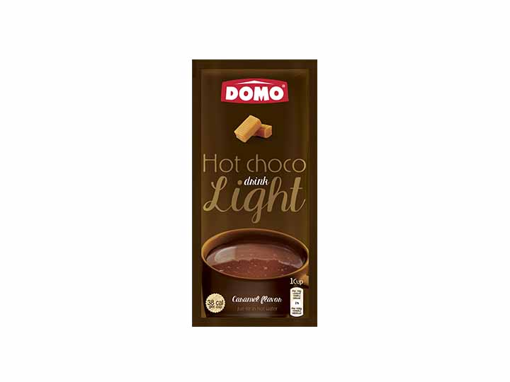 Domo Hot Chocolate Light 10g |  Caramel