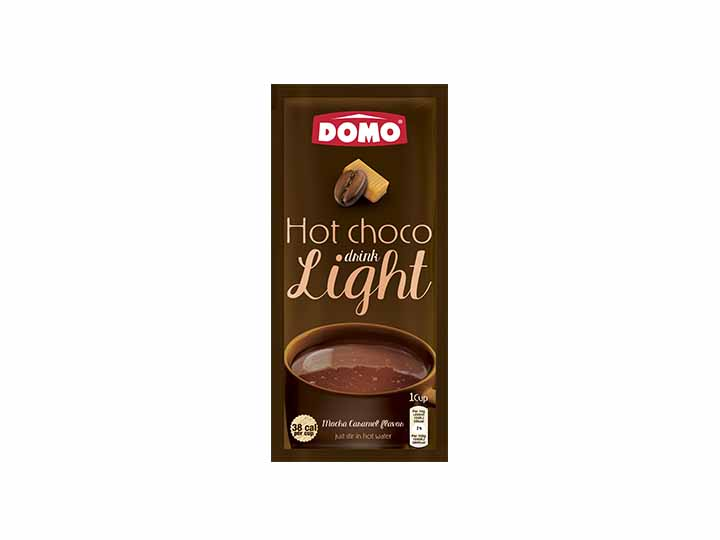 Domo Hot Chocolate Light 10g |  Mocha Caramel