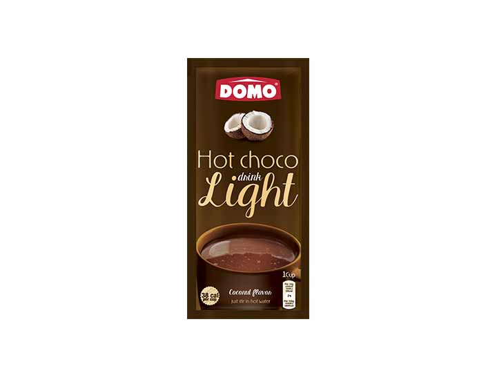 Domo Hot Chocolate Light 10g |  Coconut