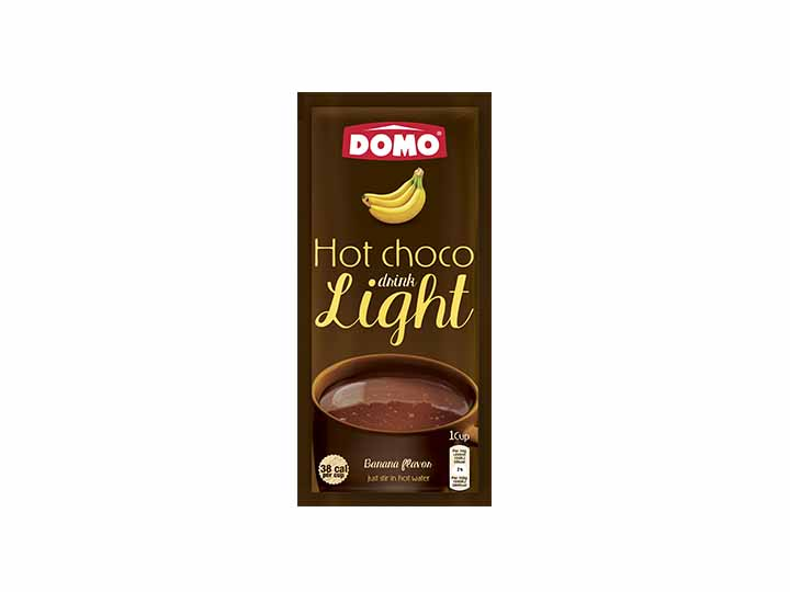 Domo Hot Chocolate Light 10g |  Banana